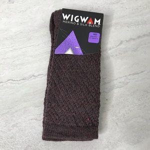 5/$25 NWT Wigwam merino wool & silk socks